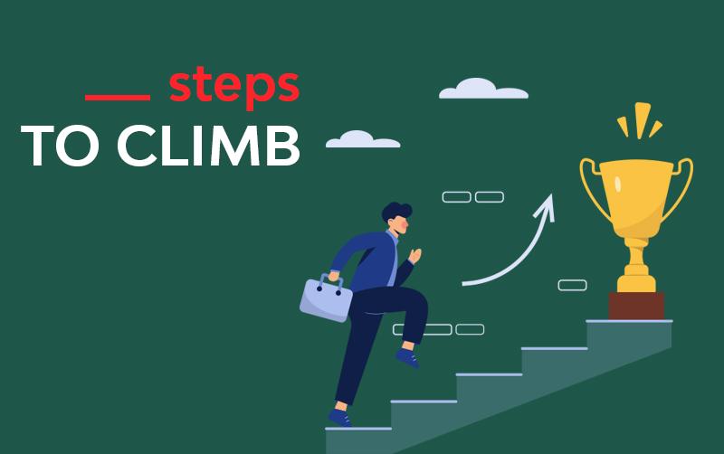steps to climd